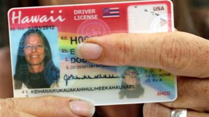 Illustration for article titled This Hawaiian Woman's Name Is Too Long For A Driver's License