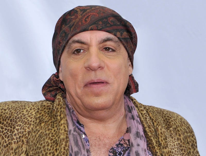 Illustration for article titled Boss Has Been Riding Steven Van Zandt's Ass All Day