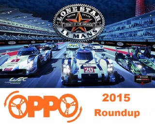 Illustration for article titled 2015 Lone Star LeMans OPPO Roundup!!!!