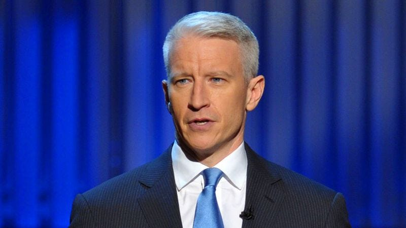 Illustration for article titled Anderson Cooper Informs Viewers CNN Just Minutes Away From First Significant Piece Of Information Of Day