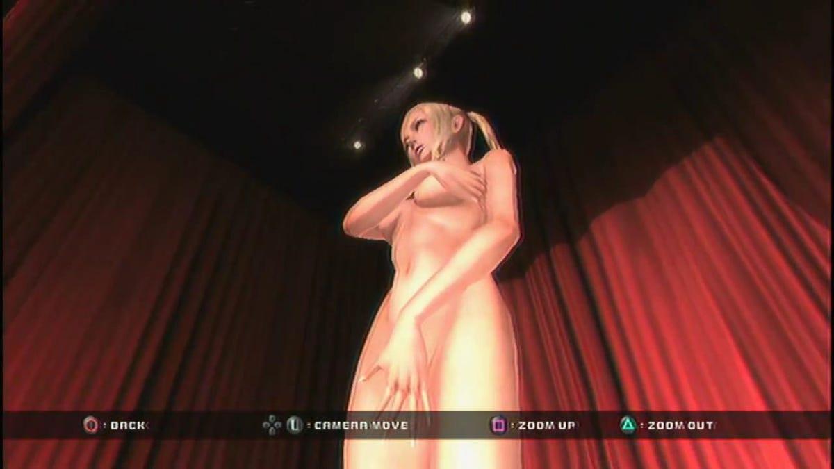 Horny naked chick lingerie