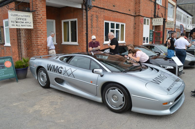 Illustration for article titled Supercar Sunday at the Brooklands Museum