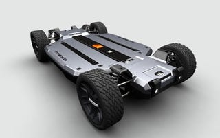 Illustration for article titled Trexa Electric Car Platform Will Cost Upwards Of $15,999