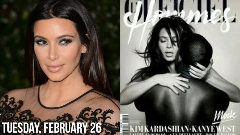 Illustration for article titled Kim Kardashian's New More Private Life Includes Nude Mag Covers