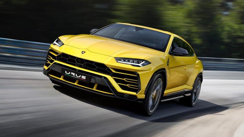 The 2019 Lamborghini Urus SUV.