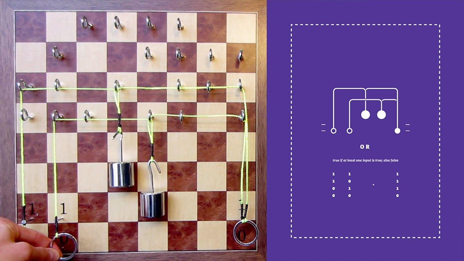 Las funciones de los circuitos, brillantemente explicadas con poleas