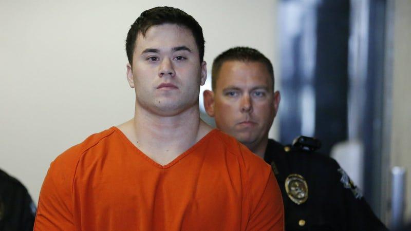 Holtzclaw during a 2014 hearing. Photo via AP
