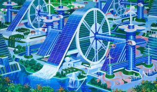 Illustration for article titled How North Korean Architects Imagine the Future of Cities