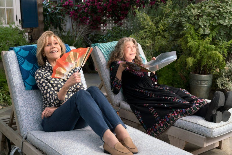 Grace And Frankie (Photo: Melissa Moseley)