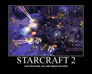 Illustration for article titled How To Explain StarCraft To FarmVille People