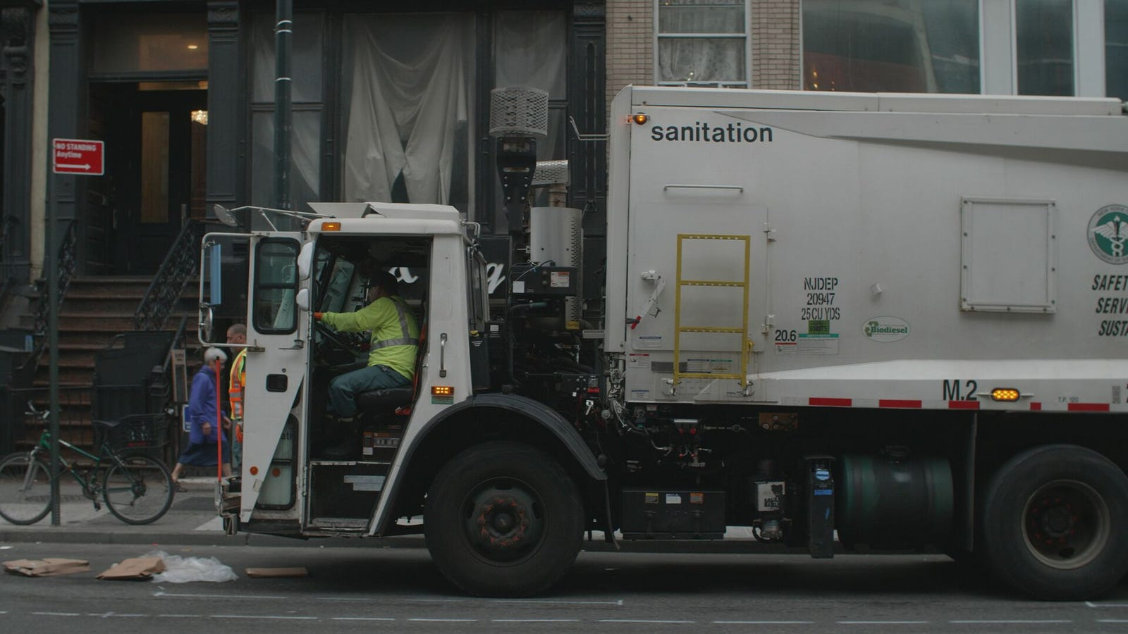 Go Inside New York's Trash Operation With /DRIVE On NBC Sports