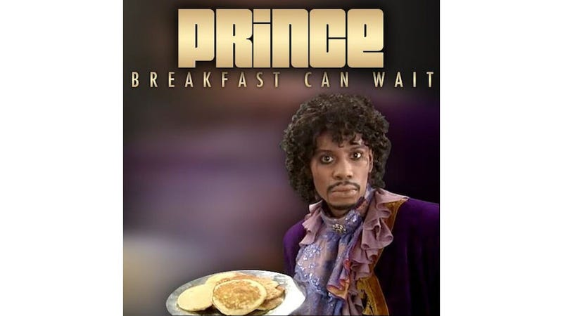 Illustration for article titled Rowr: Prince Releases Snippet of New Song 'Breakfast Can Wait'