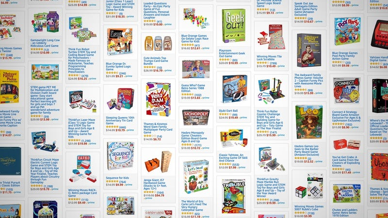 Family Board Game Sale | Amazon