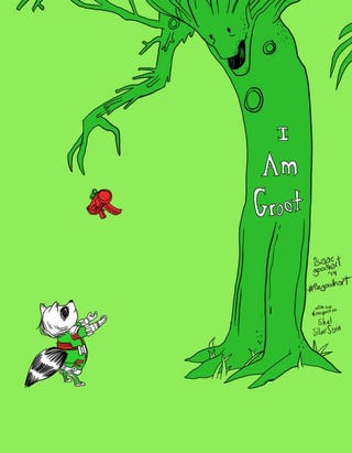 Illustration for article titled Groot(think)
