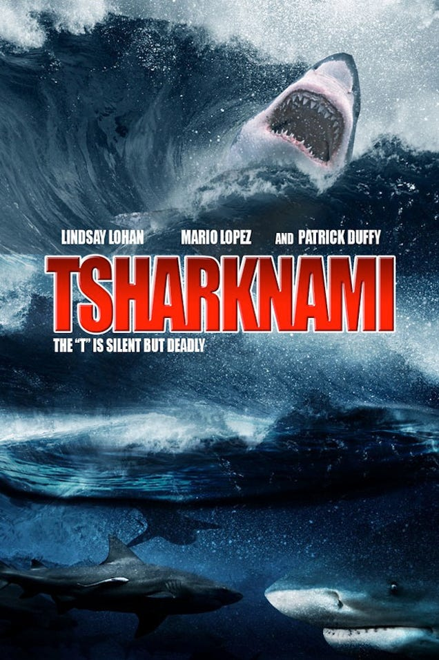Movie posters for the Sharknado sequels nobody asked for