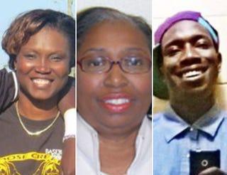 Sharonda Coleman-Singleton;Cynthia Hurd;Tywanza SandersFacebook;Charleston County Public Library; Facebook