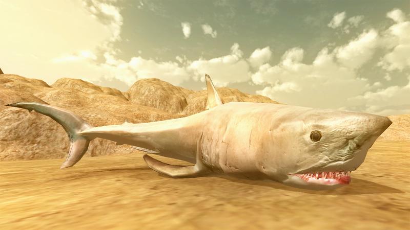 The new battlin' beast, the shark.