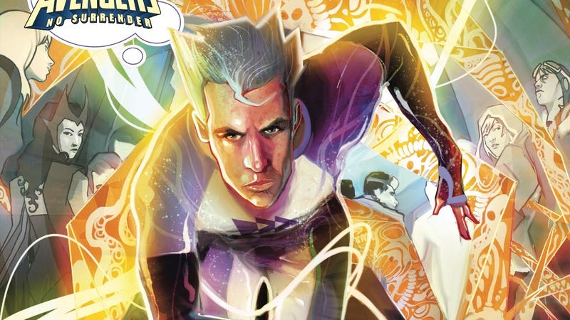 Illustration for article titled This Quicksilver: No Surrender #1 exclusive sends a speedster outside of time