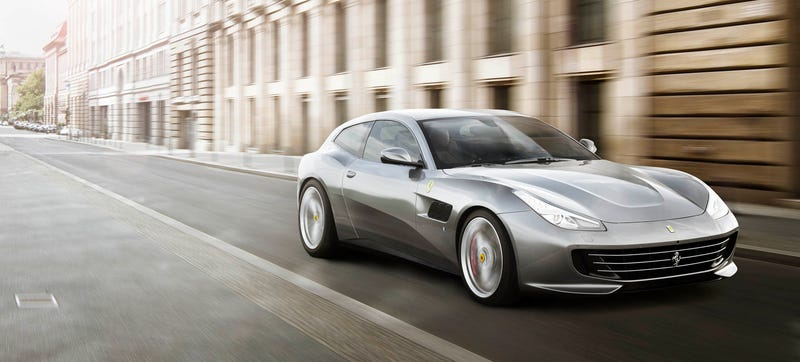 Illustration for article titled The Ferrari GTC4Lusso T Loses The Big V12 For A Twin-Turbo V8 And Rear-Wheel-Drive