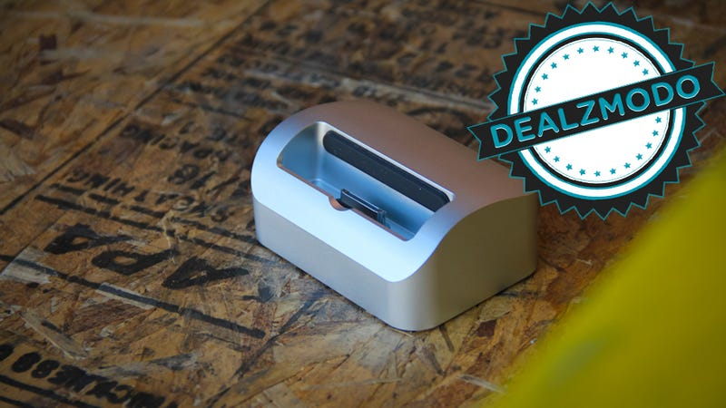 Illustration for article titled This Solid Aluminum iPhone Dock Is Your Deal of the Day