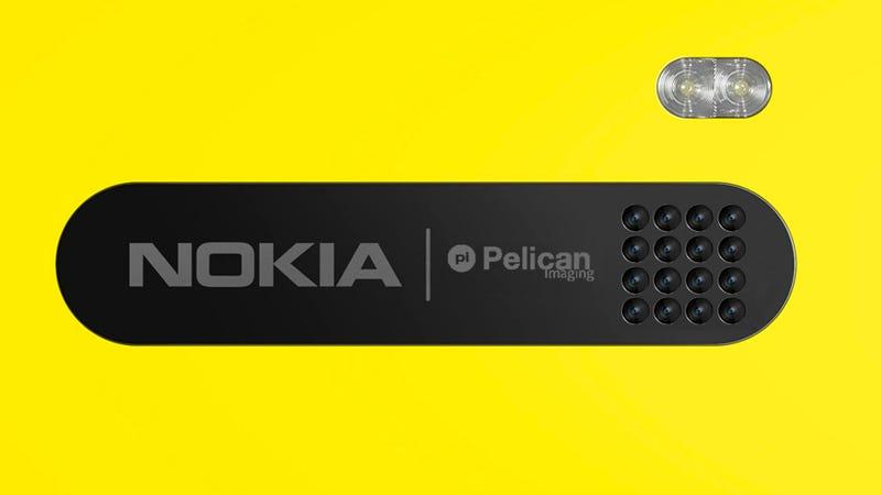 Illustration for article titled ¿Un Nokia Lumia con 16 lentes para 2014?