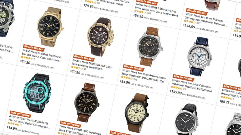 Up to 50% off Father's Day Watches | Amazon