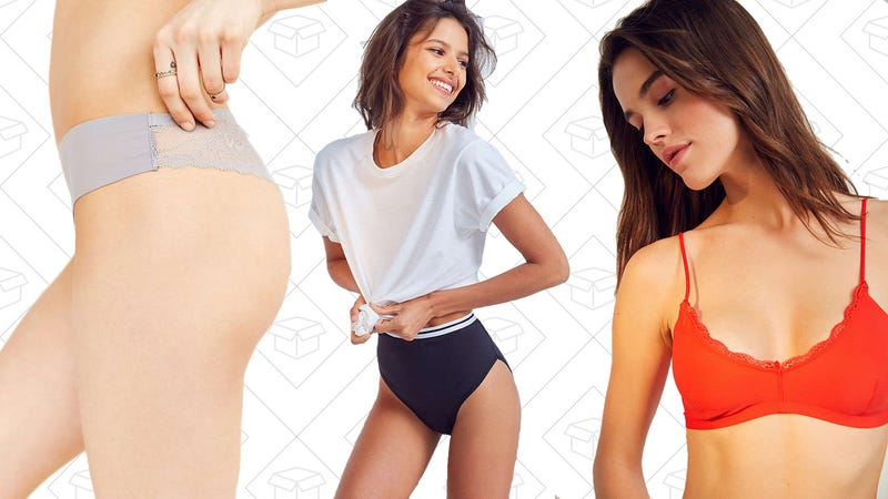 7-for-$28 Out From Under underwear | 40% off Out From Under bras and bralettes