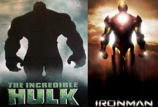 Illustration for article titled Hulk and Iron Man In Super-Movie Crossover
