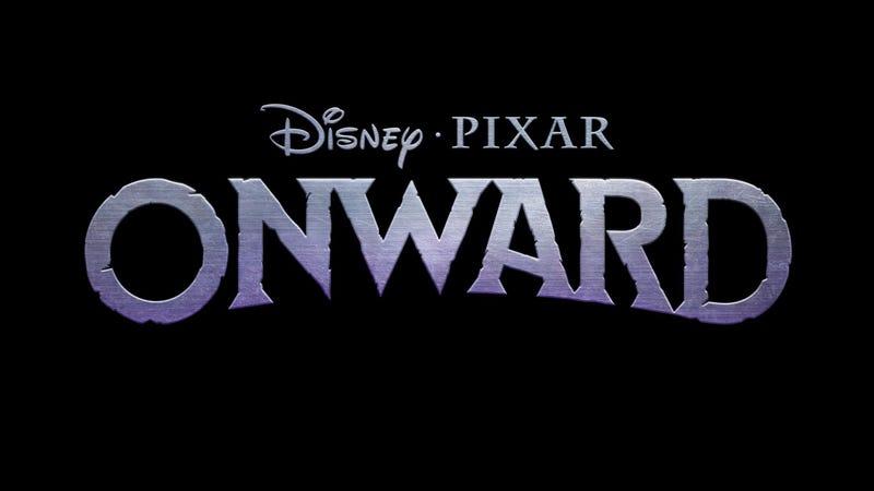 The logo for Disney Pixar's Onward.