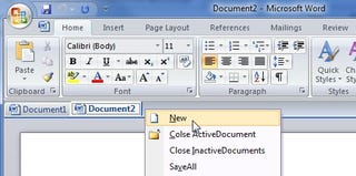 Illustration for article titled OfficeTab Adds Tabs to Microsoft Office