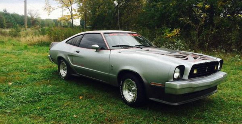 This 1978 Ford Mustang King Cobra Is Claimed NumbersMatching