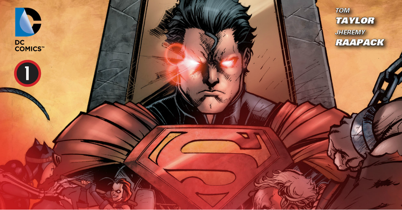 Illustration for article titled Issue 1 of DC's Injustice: Gods Among Us tie in is free until 8pm PST