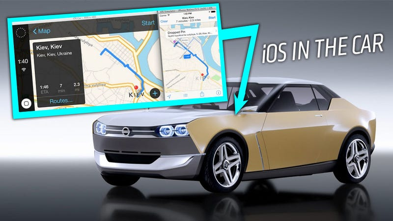 Illustration for article titled Leaked Apple 'iOS In The Car' Videos Show iOS Future In Our Cars