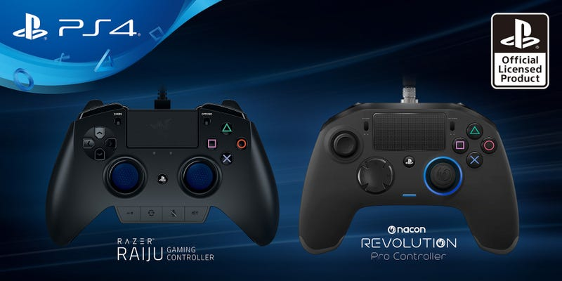 Illustration for article titled Sony Announces New Third-Party PS4 Controllers