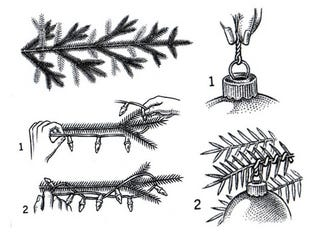 Illustration for article titled Decorate Your Christmas Tree Like a Pro