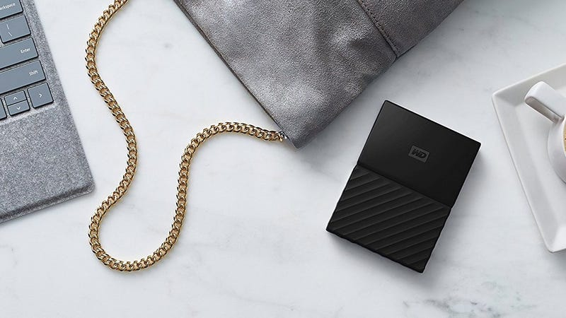 WD Black 1TB External Hard Drive | $45 | Amazon