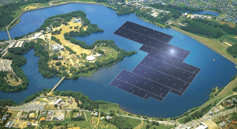 Comienza la construcción de la planta solar flotante más grande del mundo
