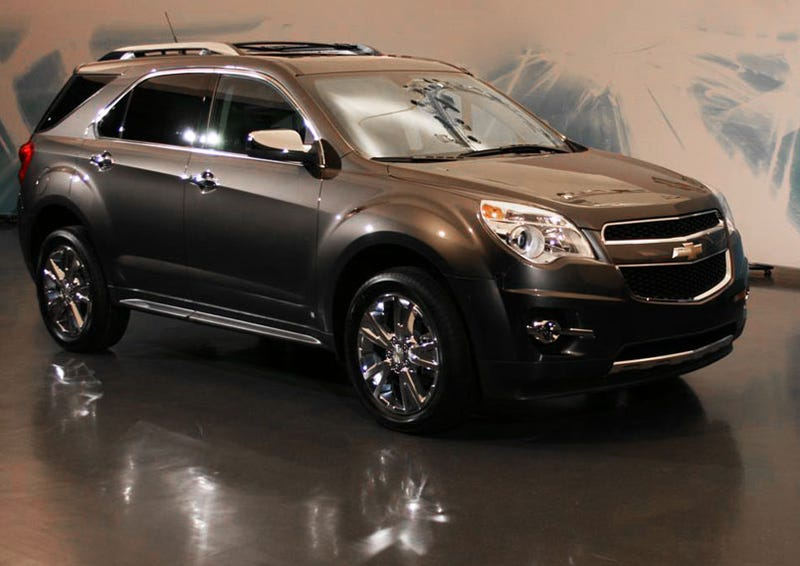 2010 chevy equinox a new look for detroit. Black Bedroom Furniture Sets. Home Design Ideas