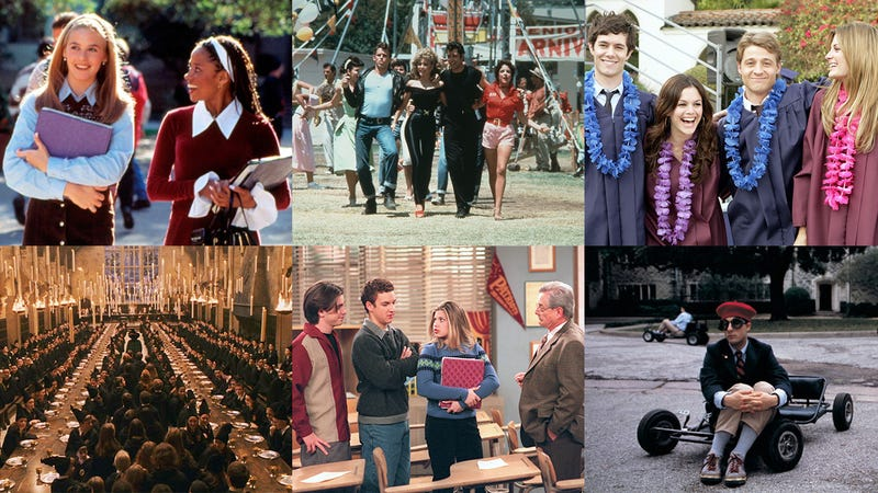 Photos: Paramount Pictures, Paramount Pictures, Warner Bros. Television, Warner Bros. Pictures, Touchstone Television.