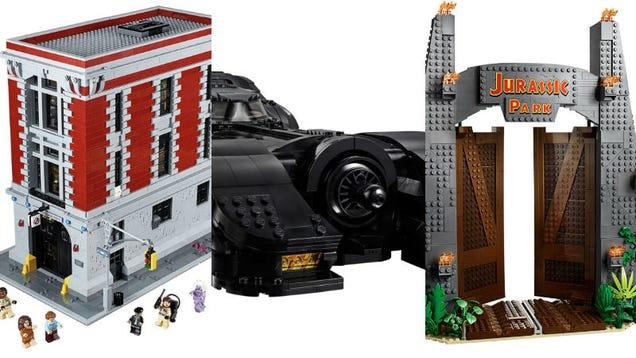 The Coolest Pop Culture Lego Sets to Build