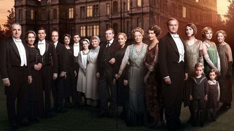 The cast of Downton Abbey (PBS)