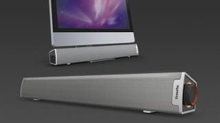 Illustration for article titled Camouflage Speaker Bar Blends in With Your iMac