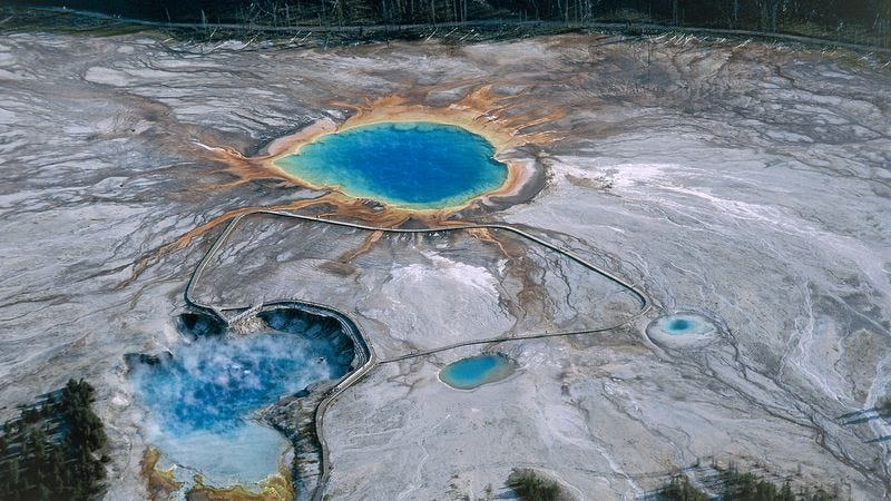 Illustration for article titled Dormant Supervolcano Underneath Yellowstone Figures Now As Good A Time As Any