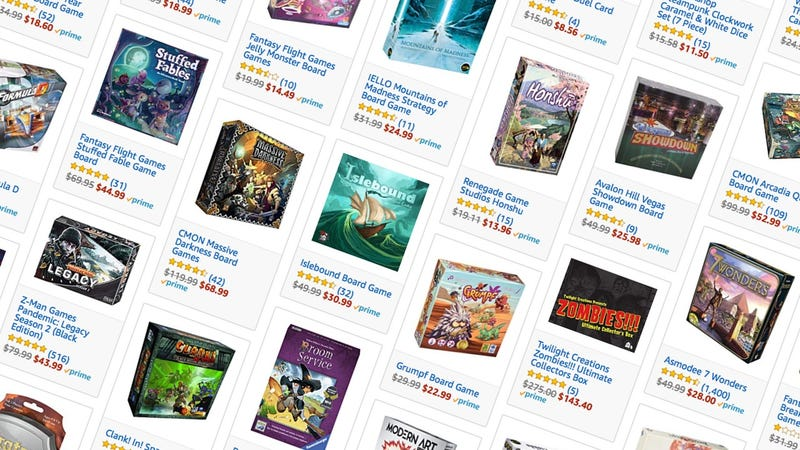 Amazon Board Game Sale | Today only