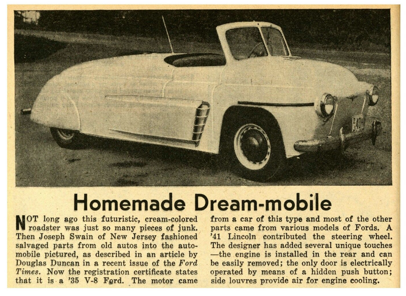 Illustration for article titled homemade car
