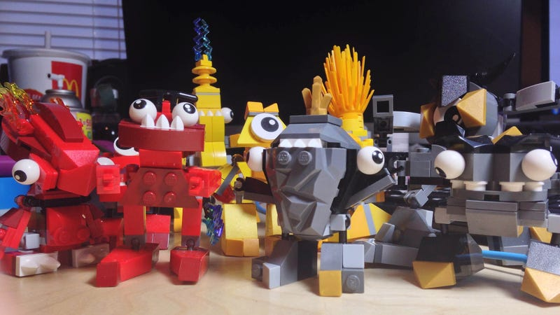 Illustration for article titled These Mixed-Up Little LEGO Creatures Are Just The Best