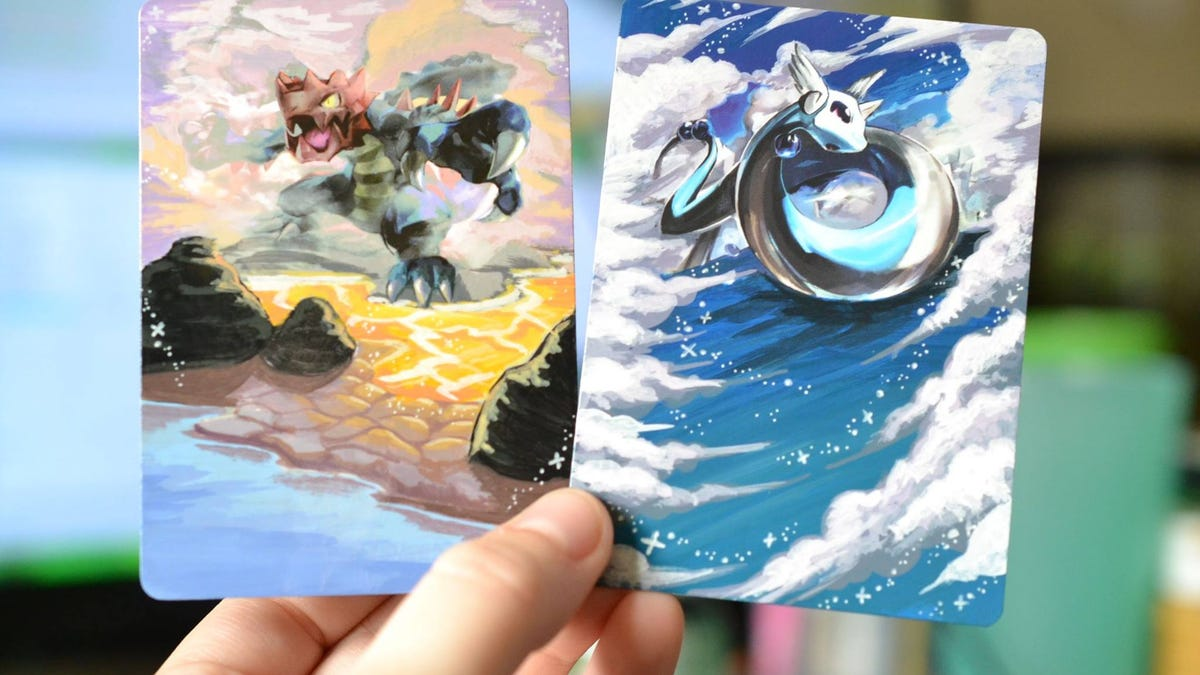 how to make pokémon cards even better paint them