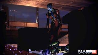 Illustration for article titled Mass Effect 2's New Blue Girl Kicks Ass