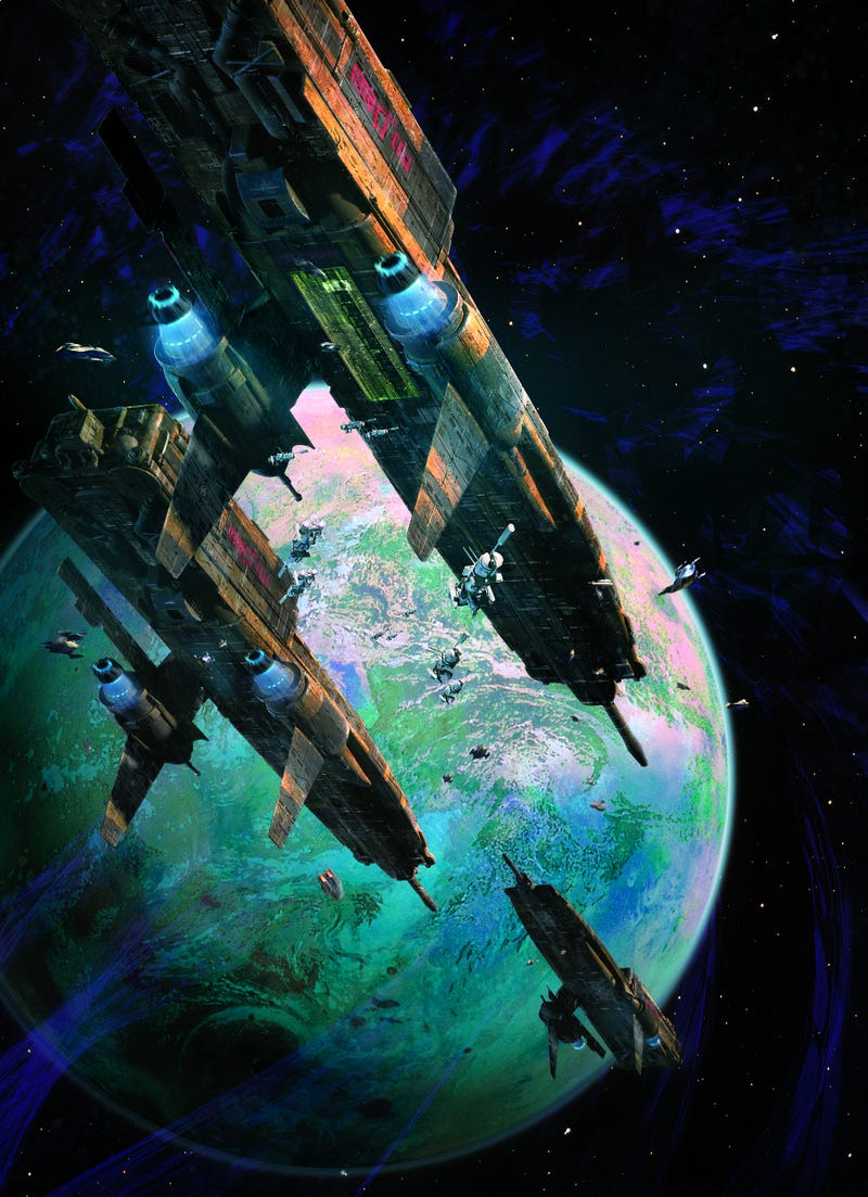 Illustration for article titled There's a Reason Why Dave Seeley's Gorgeous Space Art Is On So Many Book Covers