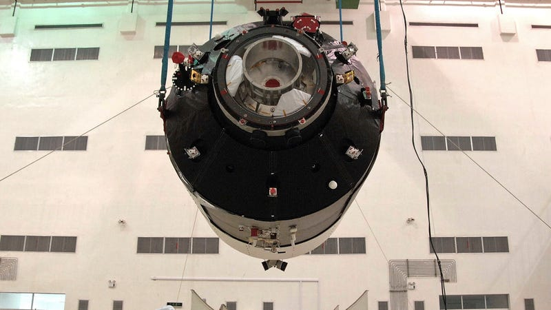 Tiangong-1 in the lab